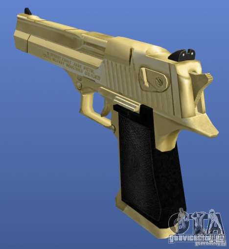 Desert Eagle Retex 1.2 Gold для GTA 4