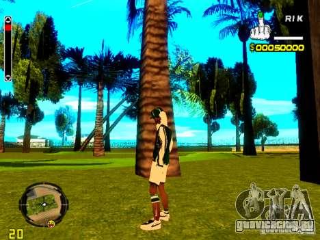 Skin бомжа v5 для GTA San Andreas второй скриншот