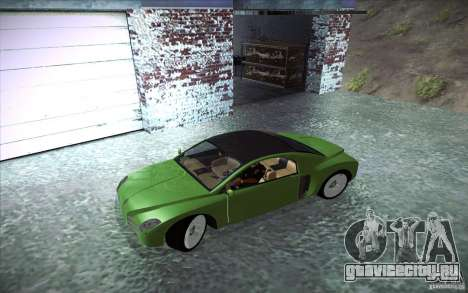 Renault Fiftie Concept для GTA San Andreas вид слева