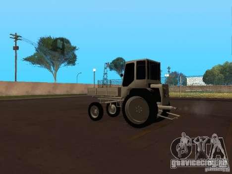 Трактор Т16М для GTA San Andreas вид сзади слева
