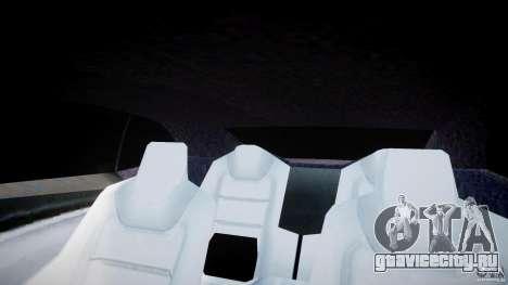 Chevrolet Camaro 2009 для GTA 4 вид снизу