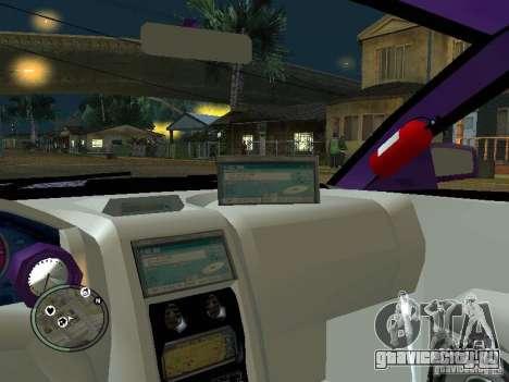 Mitsubishi Spyder 2Fast2Furious Cabriolet для GTA San Andreas вид сверху