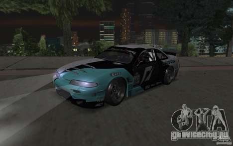 Nissan S14 Matt Powers 2012 для GTA San Andreas вид слева