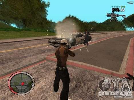 GTA IV HUD Final для GTA San Andreas шестой скриншот