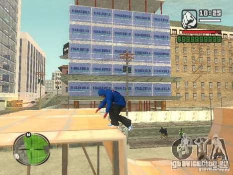 RunMan для GTA San Andreas третий скриншот
