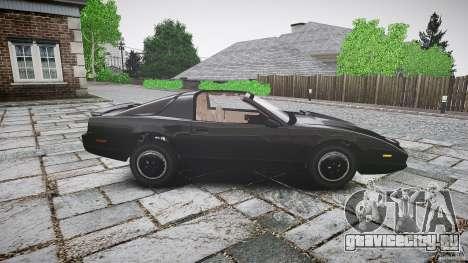 KITT Knight Rider для GTA 4 вид сбоку