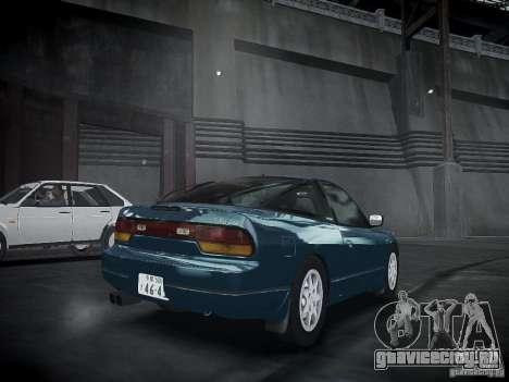 Nissan 240SX для GTA 4 вид слева