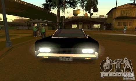 Lincoln Continental 1966 для GTA San Andreas вид справа