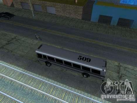 Prison Bus для GTA San Andreas вид сзади