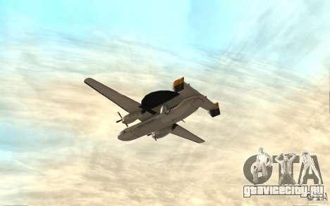 E-C2 Hawkeye для GTA San Andreas вид справа