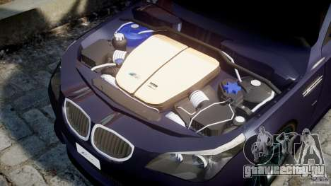 BMW M5 Lumma Tuning [BETA] для GTA 4 вид сбоку