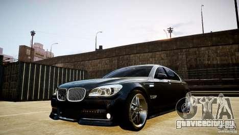BMW 750Li (F02) Hamann 2010 v2.0 для GTA 4 вид изнутри
