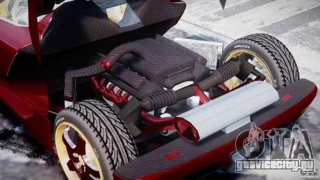 Koenigsegg CCRT для GTA 4 вид сбоку