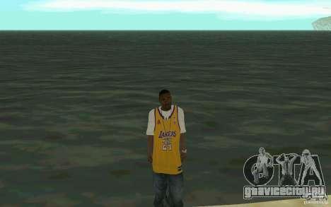 Afro-American HD skin для GTA San Andreas