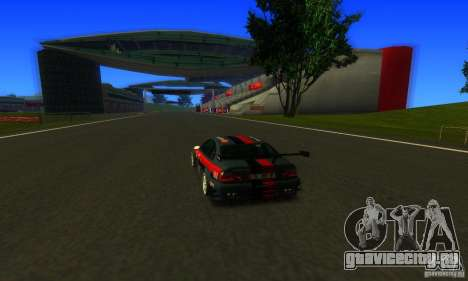 F1 Shanghai International Circuit для GTA San Andreas третий скриншот