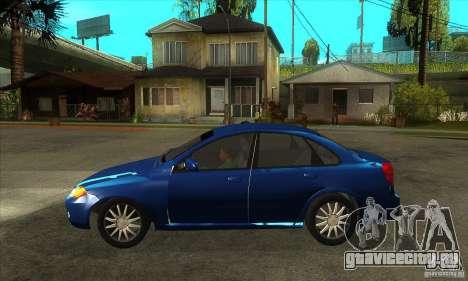 Chevrolet Optra 2011 для GTA San Andreas вид слева