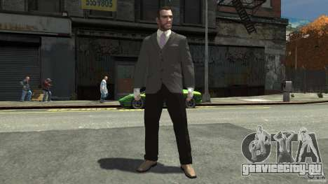 Gloves AlpineStar White для GTA 4