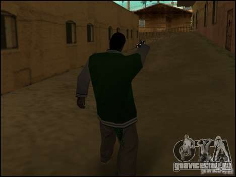 Оружие в одной руке для GTA San Andreas четвёртый скриншот