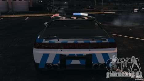 NFSOL State Police Car [ELS] для GTA 4 вид сверху