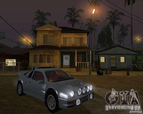 Ford RS 200 для GTA San Andreas