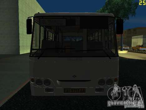 Богдан A09202 v2 для GTA San Andreas вид сбоку