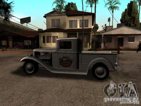 Ford Farmtruck для GTA San Andreas вид слева
