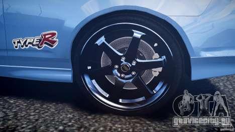 Acura RSX TypeS v1.0 Volk TE37 для GTA 4 вид снизу