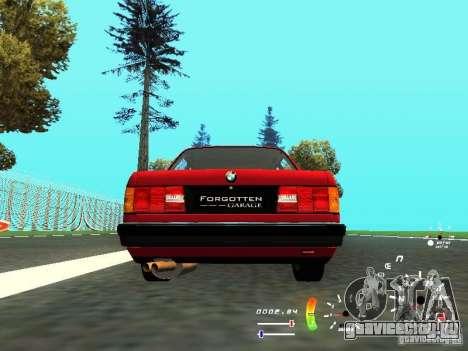 BMW E30 87-91 для GTA San Andreas вид справа