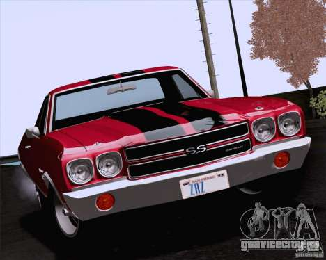 Chevrolet El Camino SS 70 Fixed Version для GTA San Andreas