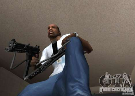 Walther MPL для GTA San Andreas третий скриншот