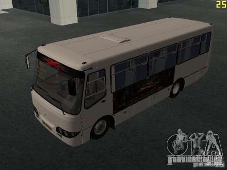 Богдан A09202 v2 для GTA San Andreas вид слева