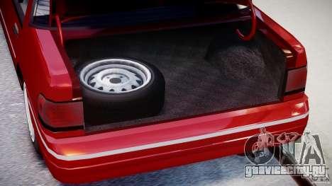 Mercury Tracer 1993 v1.0 для GTA 4 вид сзади