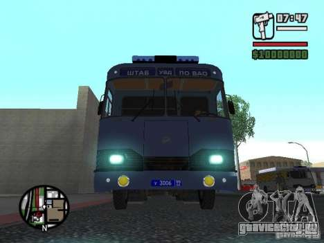 ЛиАЗ 677Ш для GTA San Andreas вид слева