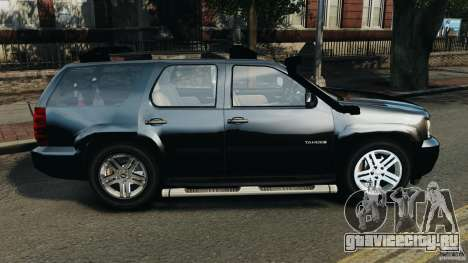 Chevrolet Tahoe LCPD SWAT для GTA 4 вид слева