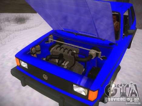 Volkswagen Rabbit GTI для GTA San Andreas вид справа