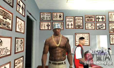 50cent_tatu для GTA San Andreas второй скриншот
