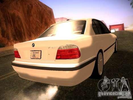 BMW 730i e38 1997 для GTA San Andreas вид слева