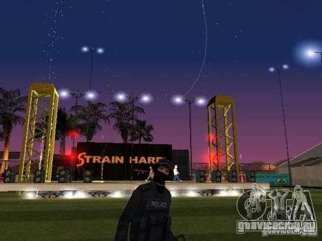 Концерт АК-47 для GTA San Andreas второй скриншот
