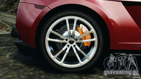 Lamborghini Gallardo LP570-4 Spyder Performante для GTA 4 вид сверху