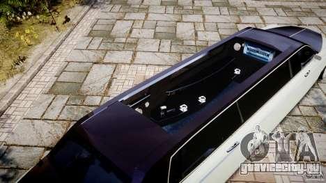 Rolls Royce Phantom Sapphire Limousine Disco для GTA 4 салон