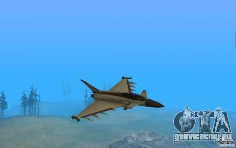 EF-2000 Typhoon V1.3 для GTA San Andreas