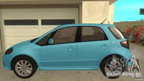 Suzuki SX4 Sportback 2011 для GTA San Andreas вид слева