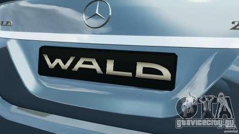 Mercedes-Benz S W221 Wald Black Bison Edition для GTA 4 колёса