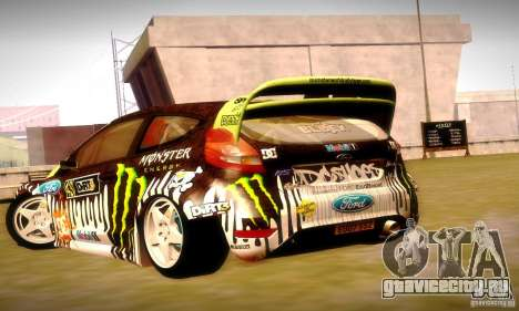 Ford Fiesta Gymkhana 4 для GTA San Andreas двигатель