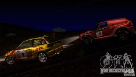 Seat Ibiza Rally для GTA San Andreas двигатель