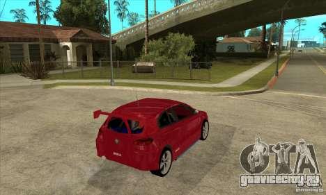 Alfa Romeo 147 для GTA San Andreas вид справа