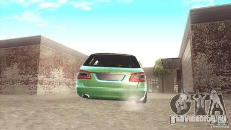 Mercedes-Benz E-Class Estate S212 для GTA San Andreas
