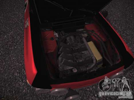 Lancia Fulvia Rally для GTA San Andreas вид изнутри