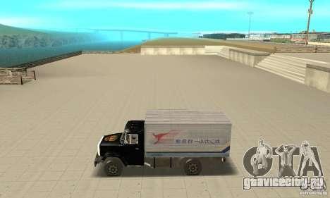 ЗиЛ 433112 с народным тюнингом для GTA San Andreas вид слева