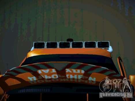 ГАЗель 2705 Бизнес для GTA San Andreas вид изнутри